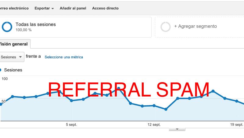 Cómo eliminar el referral spam en Google Analytics