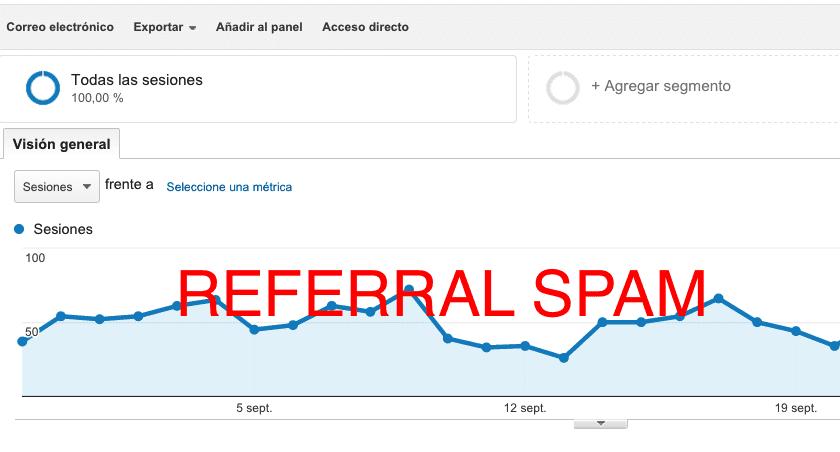 Como eliminar el referral spam en Google Analytics
